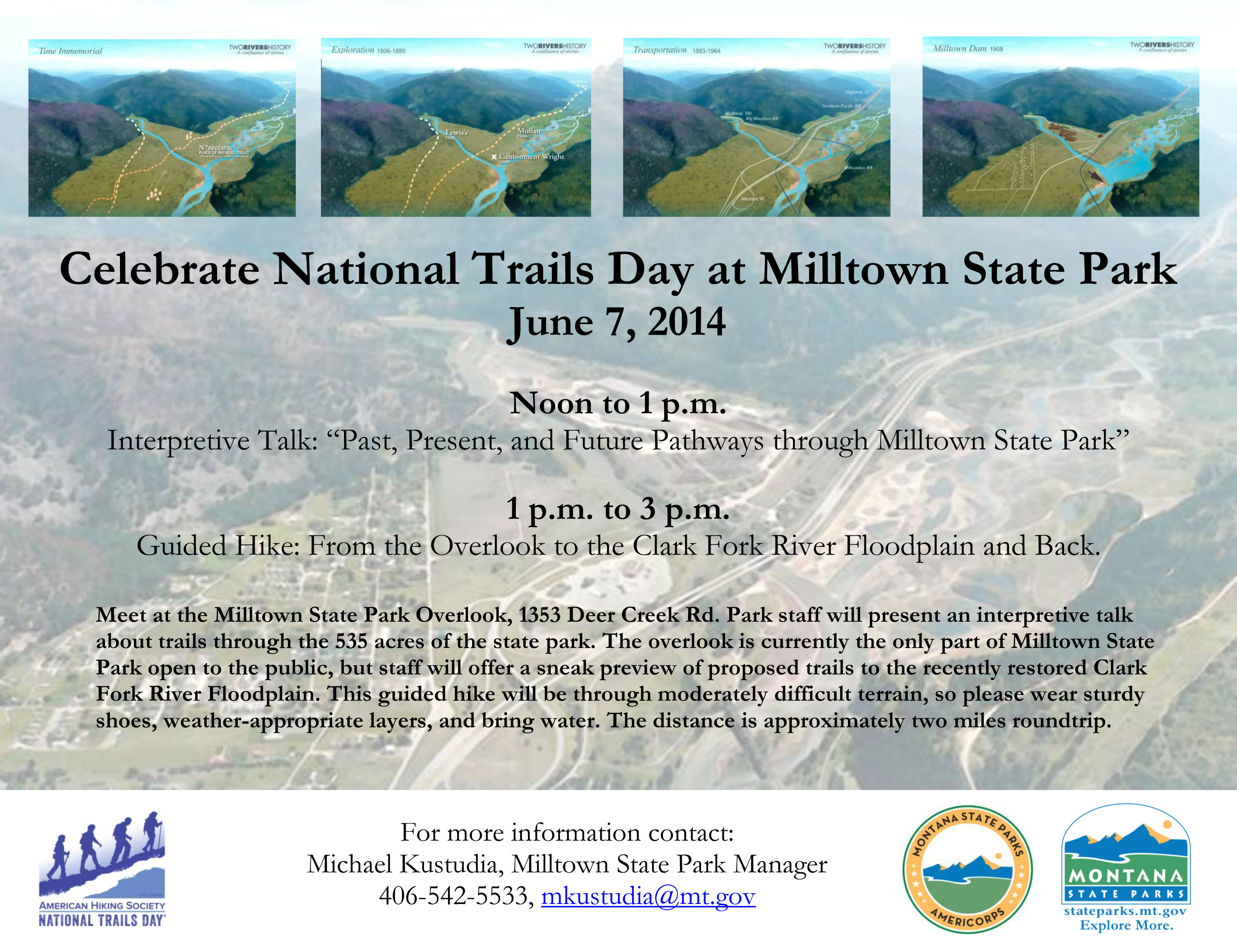 2014 National Trails Day Poster