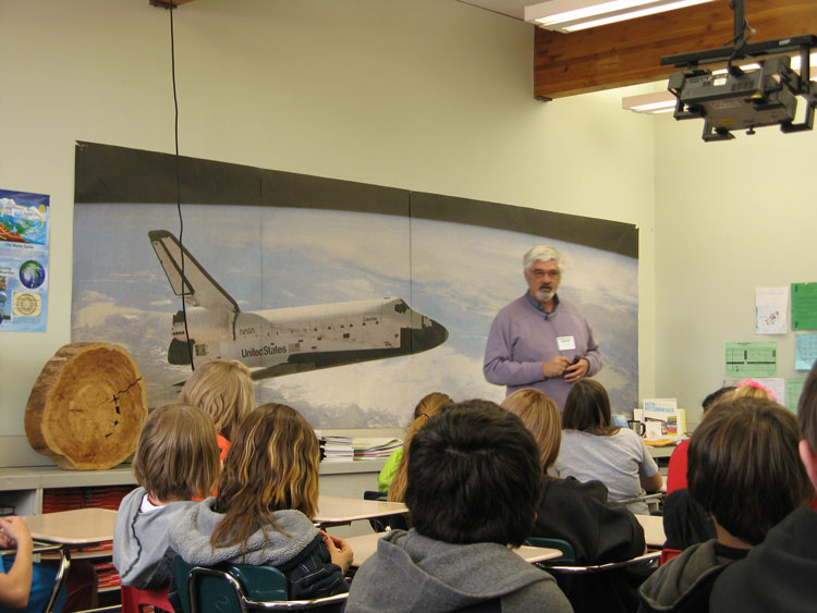 Dr. Steve Running compares the space shuttle technology to modern technology.