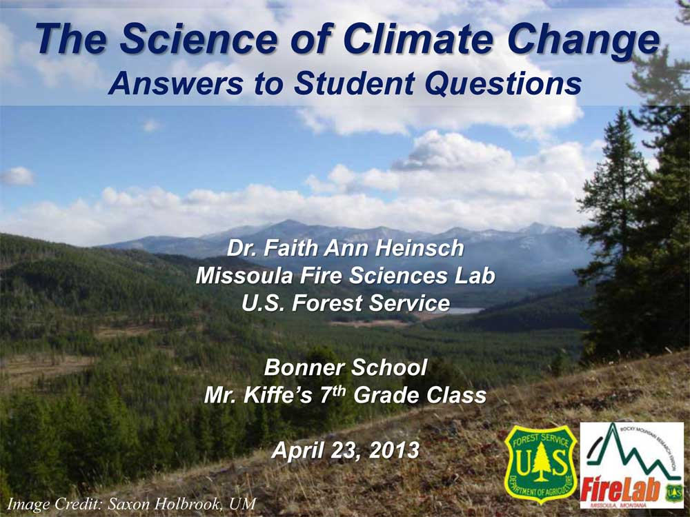 science of climate change slideshow april 23 2013